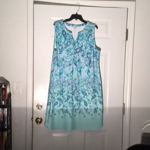 Super Cute Shift Dress! Talbots size 1X SFH